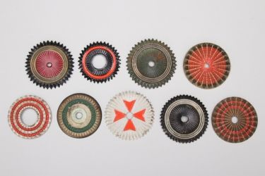 Imperial Germany - collection of helmet & cap cockades