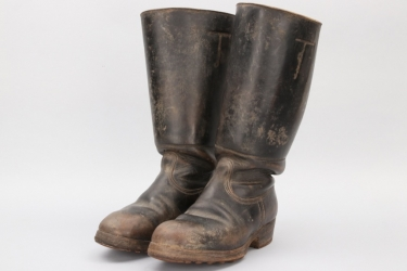 Imperial Germany - officer's field boots
