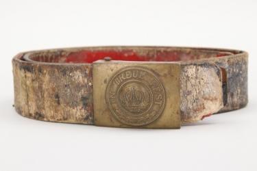 Bavaria - Chevauleger buckle & belt
