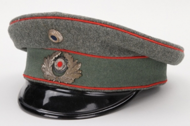 Weimar Republic - Reichswehr artillery visor cap - EM/NCO