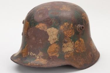 """Imperial Germany - M16 """"MG troops"""" camo helmet"""