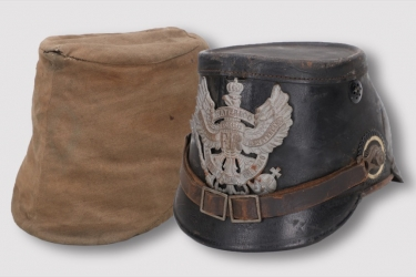 Prussia - M1915 shako Jäger-Bataillon Nr.10 - EM/NCO