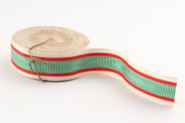 Ribbon for 1914-1918 PRO DEO ET PATRIA medal