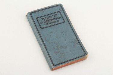 Imperial Germany - WW1 1915 German-French field dictionary