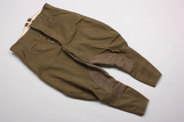 Unissued Afrikakorps breeches - 1942 maker marked