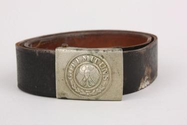 Reichswehr buckle + belt