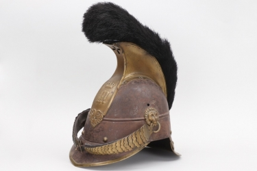"Bavaria - M1842 Cuirassier helmet ""Raupenhelm"" - EM/NCO"