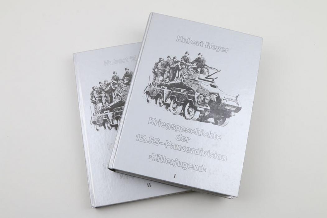 Kriegsgeschichte der 12.SS-Panzerdivision 'Hitlerjugend' Vol. I + II