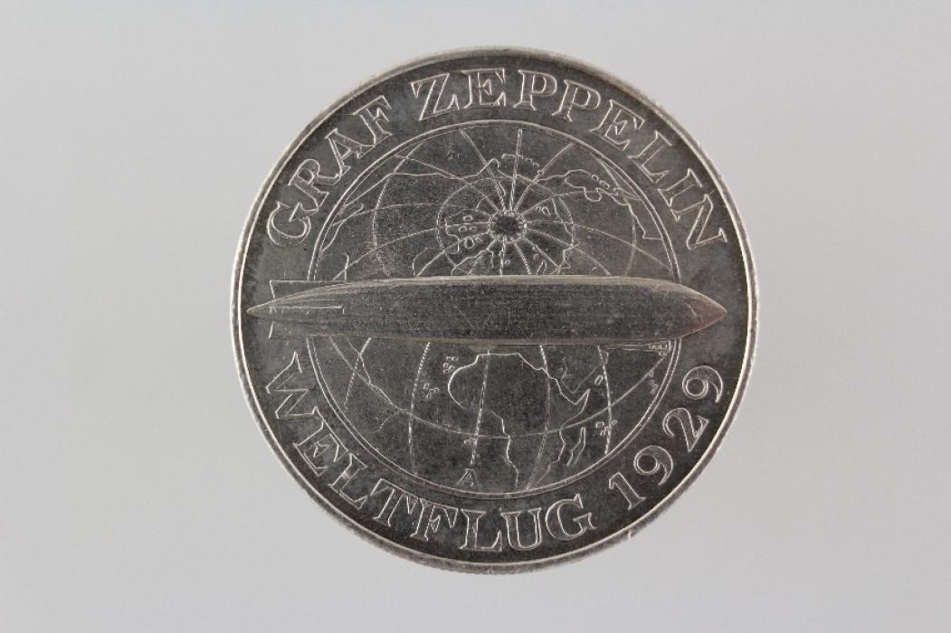 5 REICHSMARK 1929 A - ZEPPELIN