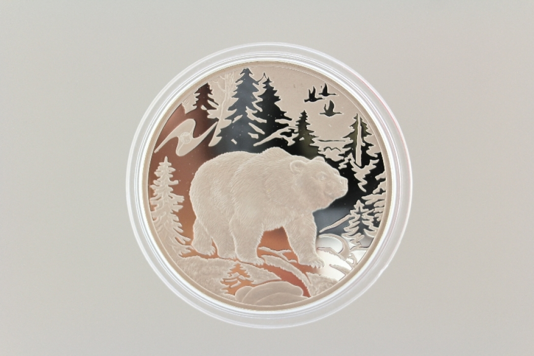 3 ROUBLES 2009 - BEAR