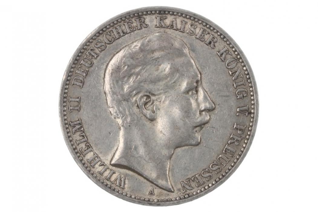 3 MARK 1910 A - WILHELM II (PRUSSIA)