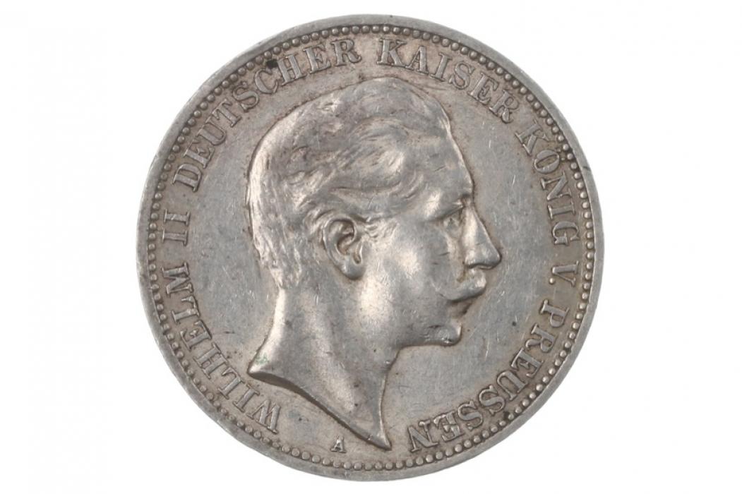 3 MARK 1912 A - WILHELM II (PRUSSIA)