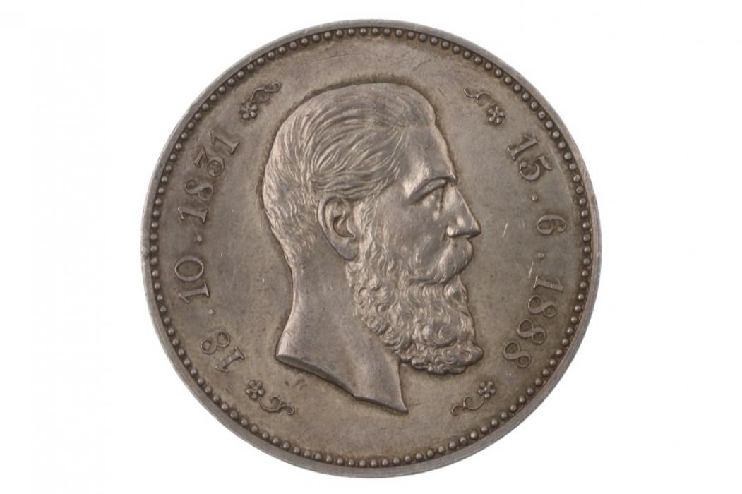 MEDAL 1888 - FRIEDRICH III - AUF DEN TOD