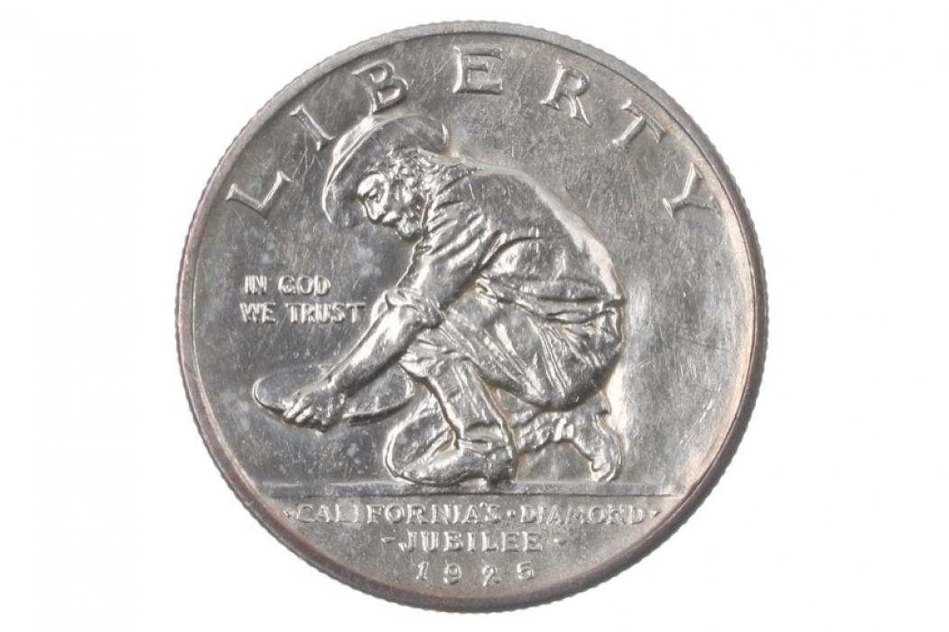 1/2 DOLLAR 1925 S - CALIFORNIA JUBILEE (USA)