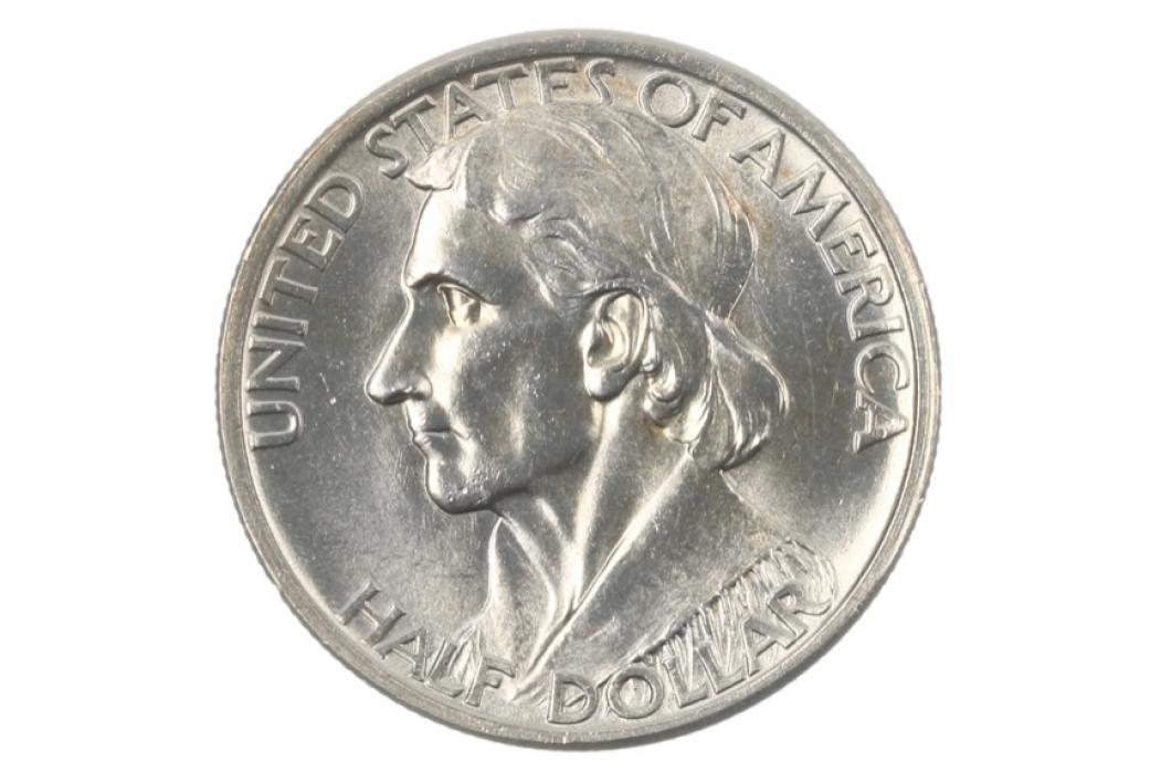 1/2 DOLLAR 1935 - DANIEL BOONE (USA)