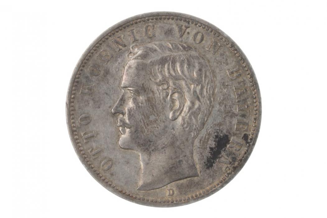 5 MARK 1907 D - OTTO (BAVARIA)