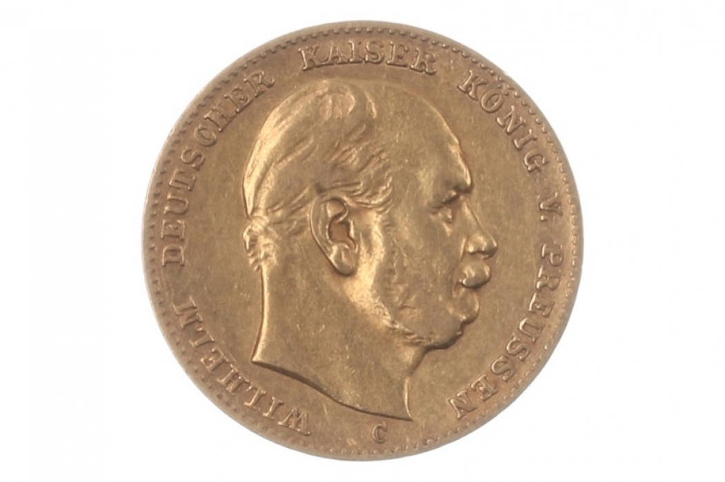 10 MARK 1879 C - WILHELM I (PRUSSIA)