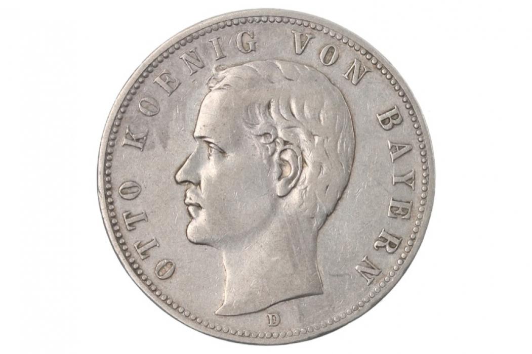 5 MARK 1903 D - OTTO (BAVARIA)