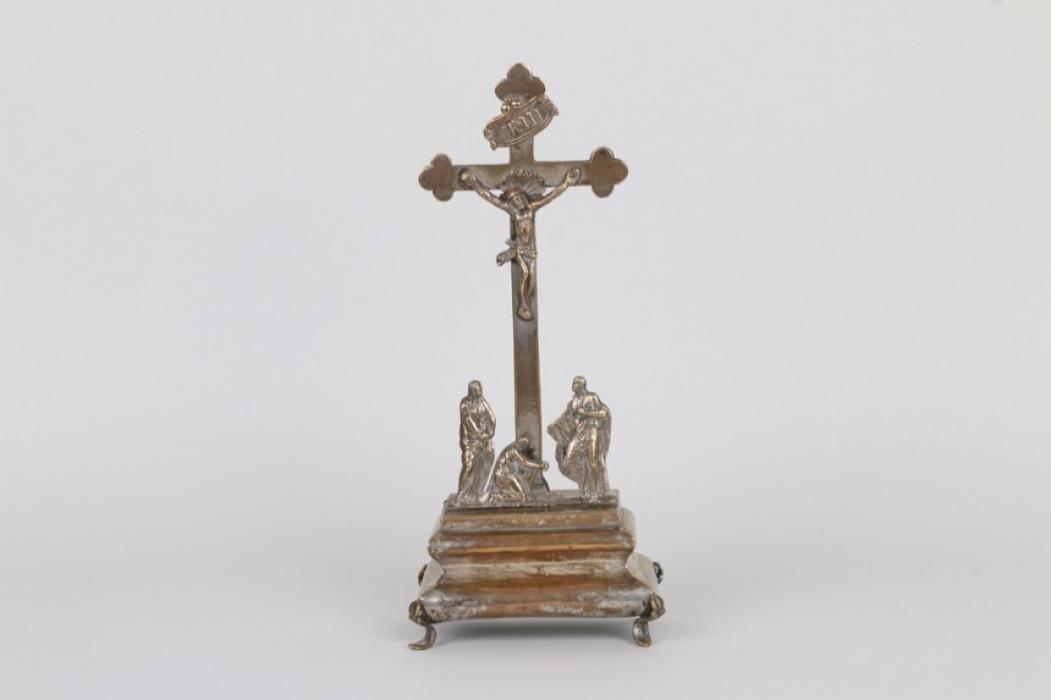 Barockes Standkruzifix, süddeutsch um 1780