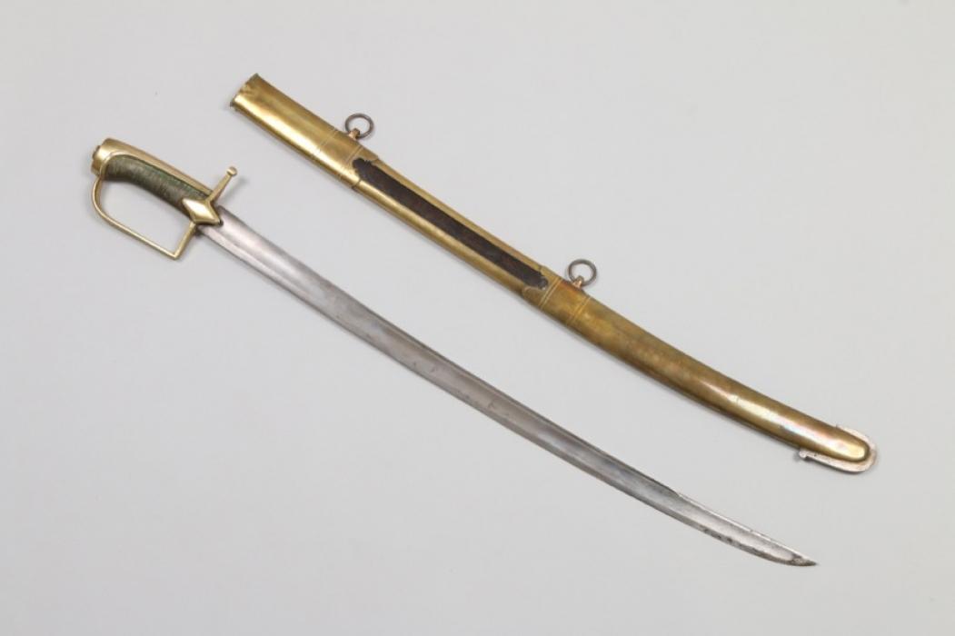 Kavalleriesäbel, wohl Frankreich um 1800