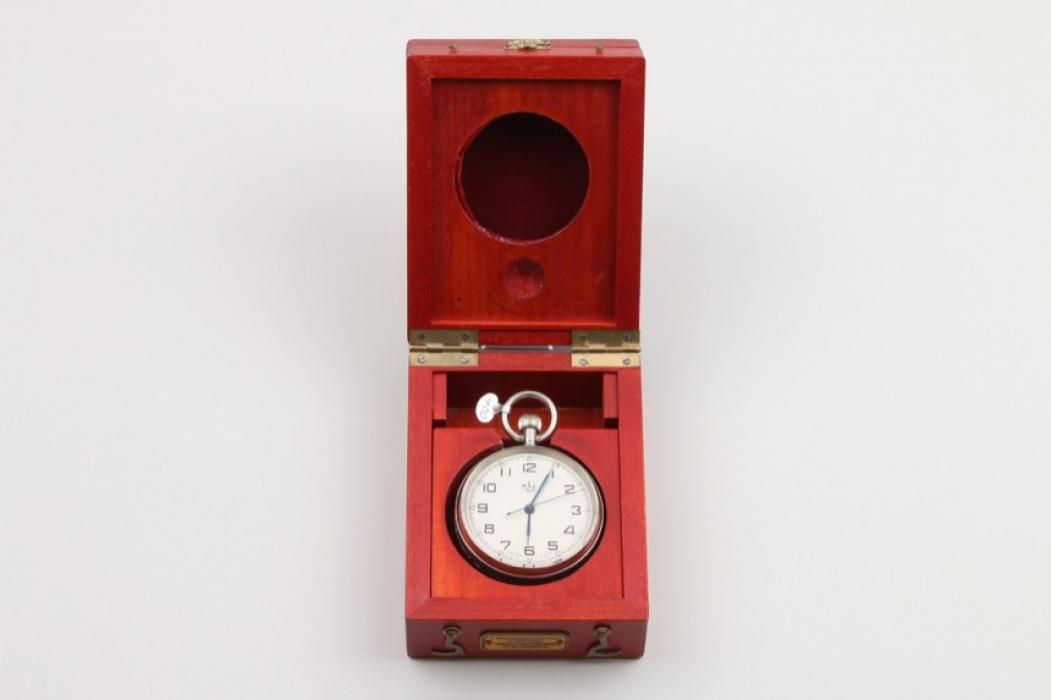Russian observer's pocket watch - Poljot