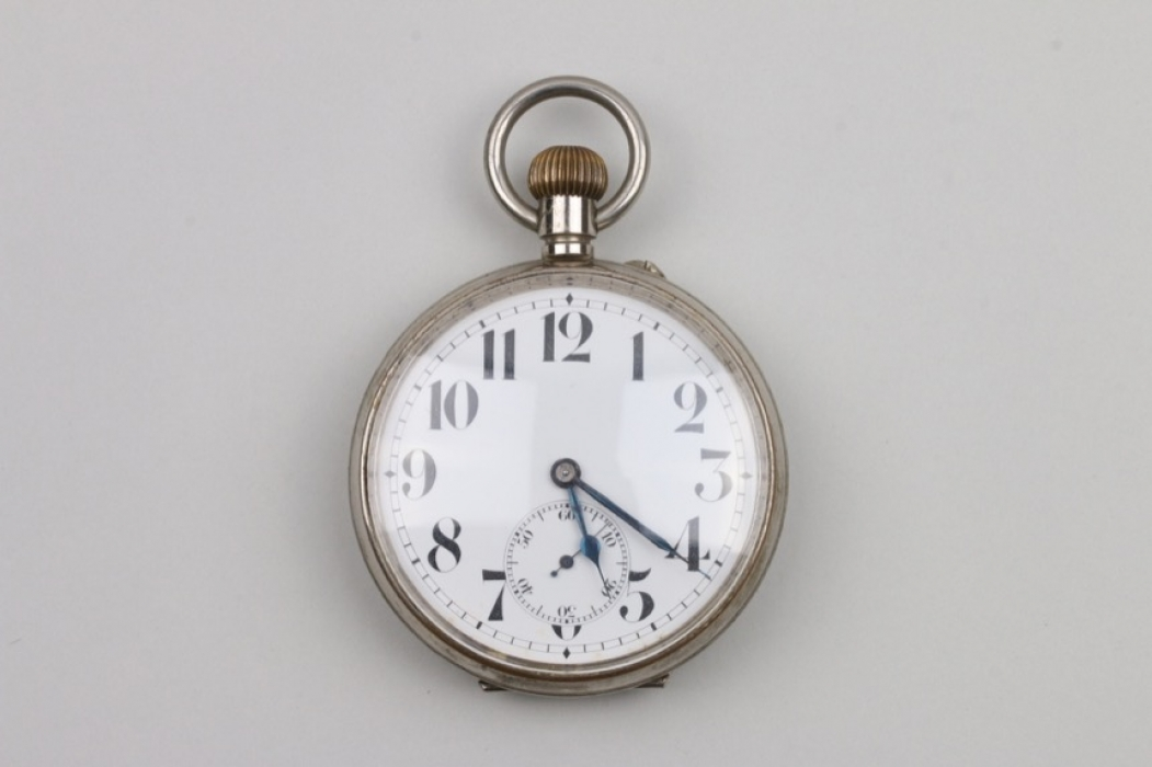 Swiss railwayman's/coachman's pocket watch - 1900