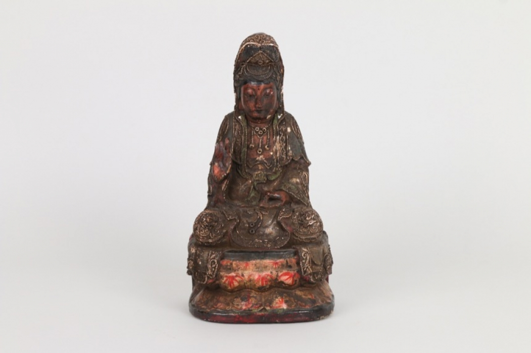 Sitzende Guanjin, China, 19.Jh.