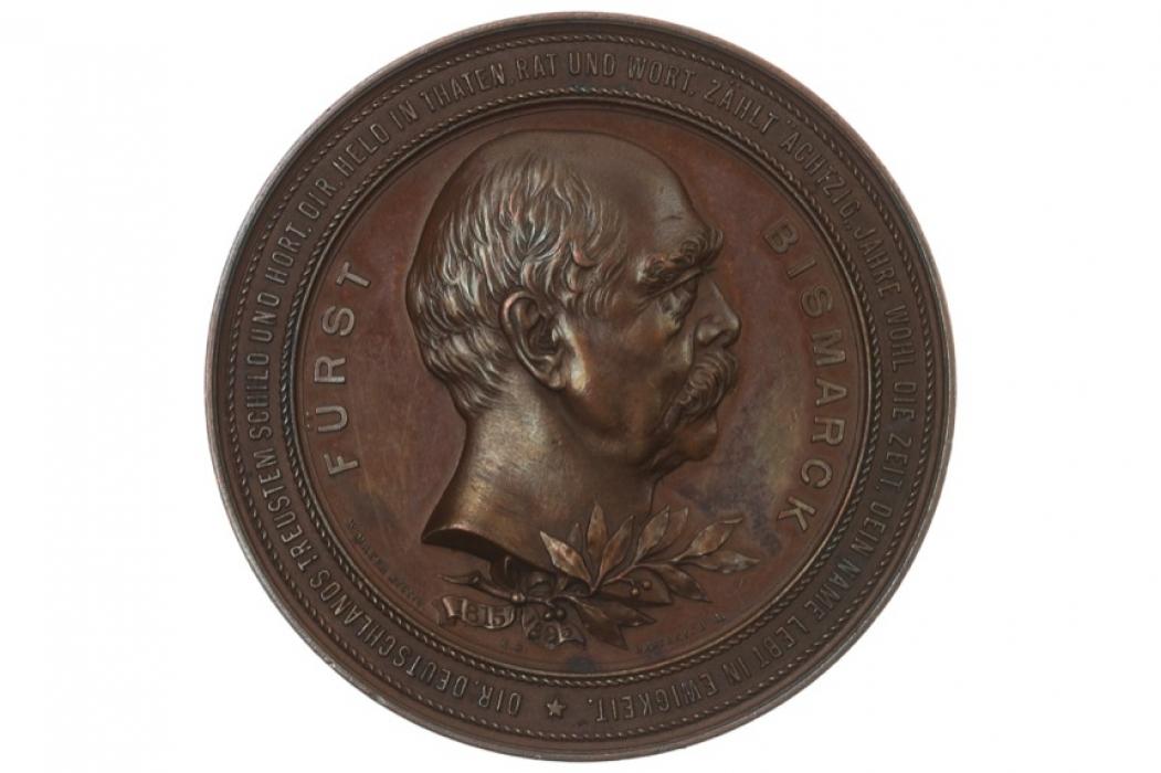 MEDAL 1898 - OTTO VON BISMARCK - AUF DEN TOD