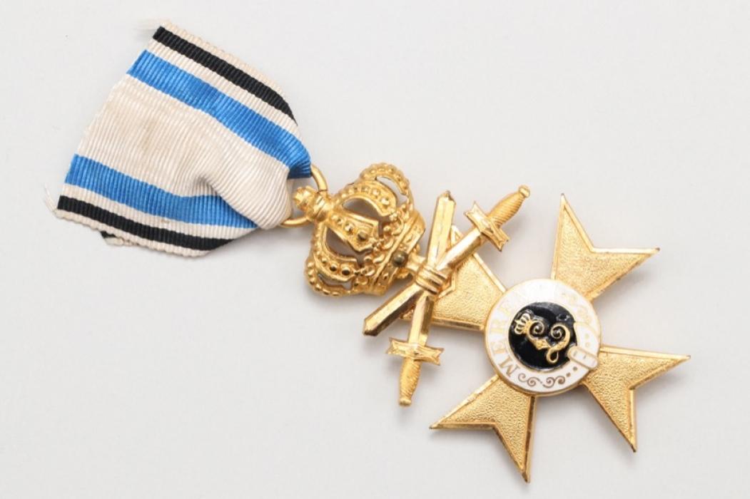 Bayern - Militär Verdienstkreuz 1. Klasse mit Krone & Schwertern