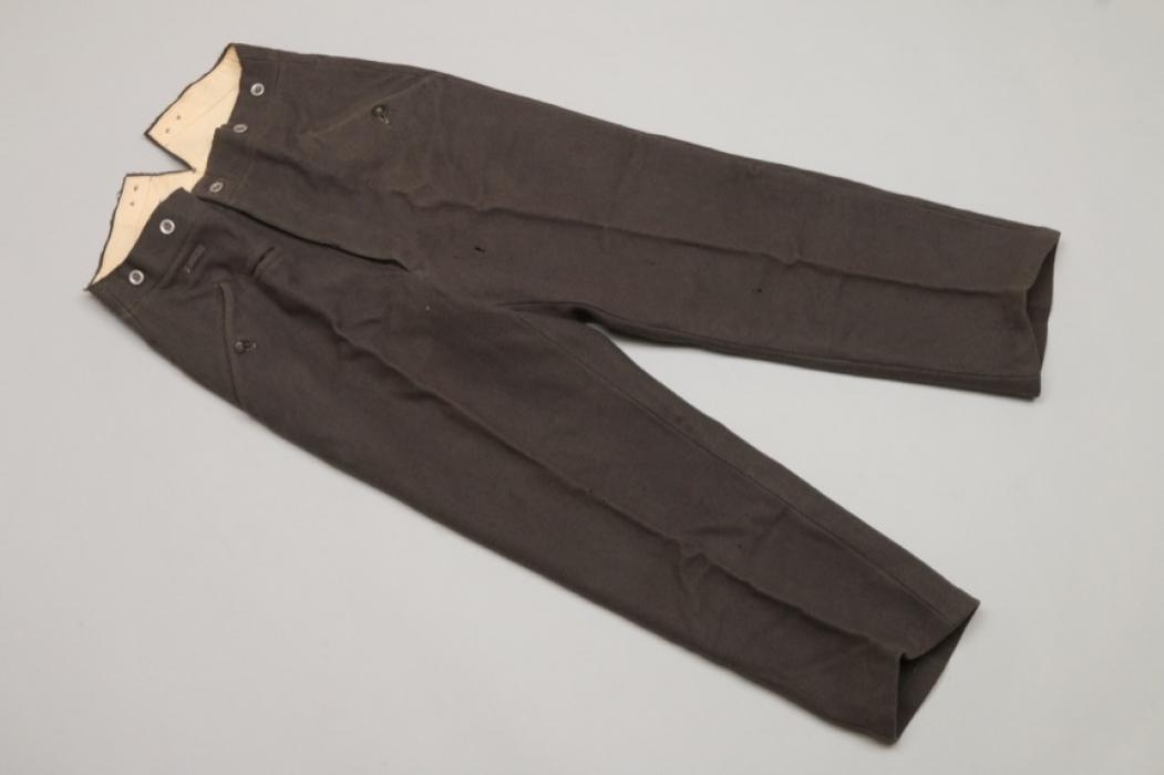 Heer M39 straight trousers - Lago