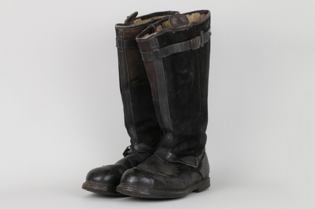 Luftwaffe flight boots - electrically heatet