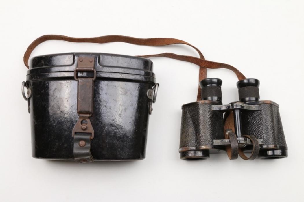 Wehrmacht 6x30 binoculars to Lt. Dillner