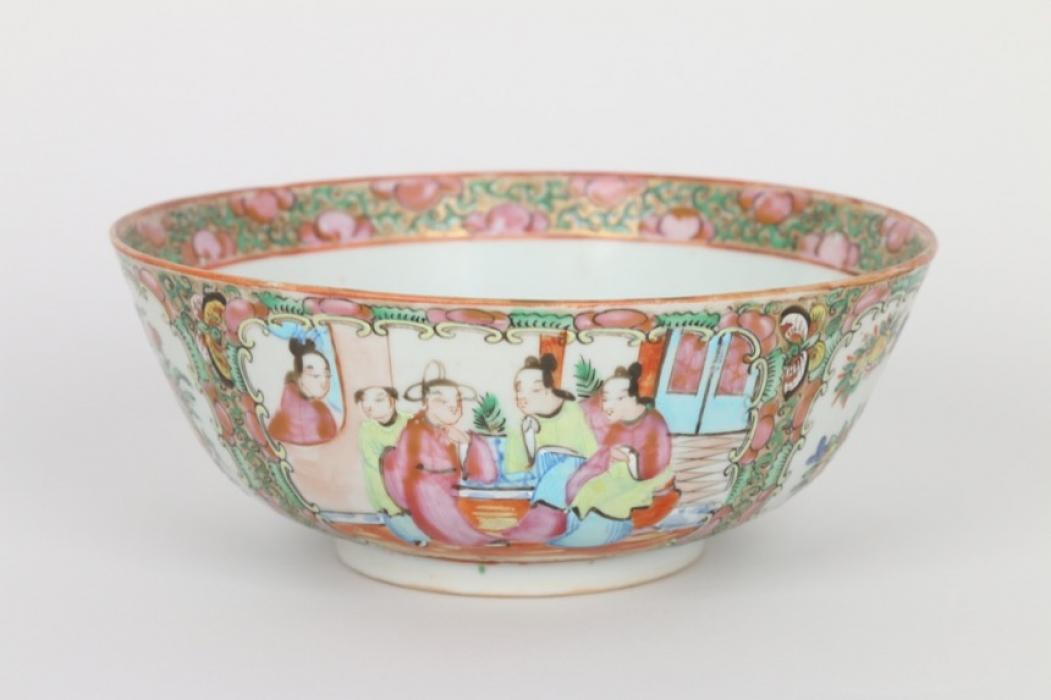 Famille-Rosé Porzellanschale, China, 19. Jh.