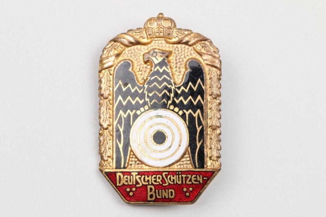 Abzeichen Deutscher Schützenbund Emaille 1920er Jahre