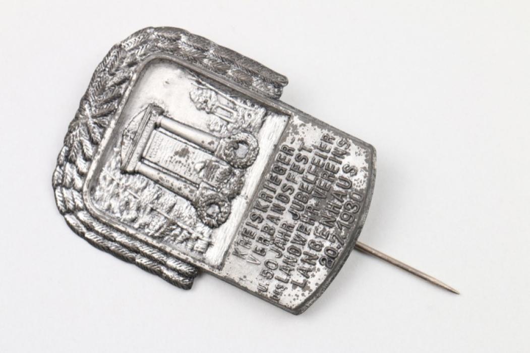 Abzeichen 1930 Landwehrverein Langenhaus