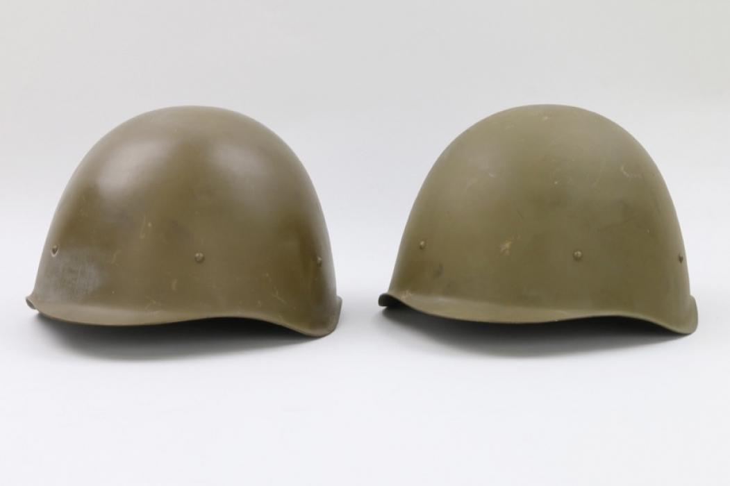 Soviet Union - 2 postwar helmets