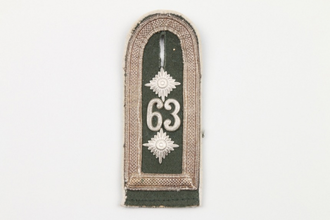 Inf.Rgt.63 shoulder board Oberfeldwebel