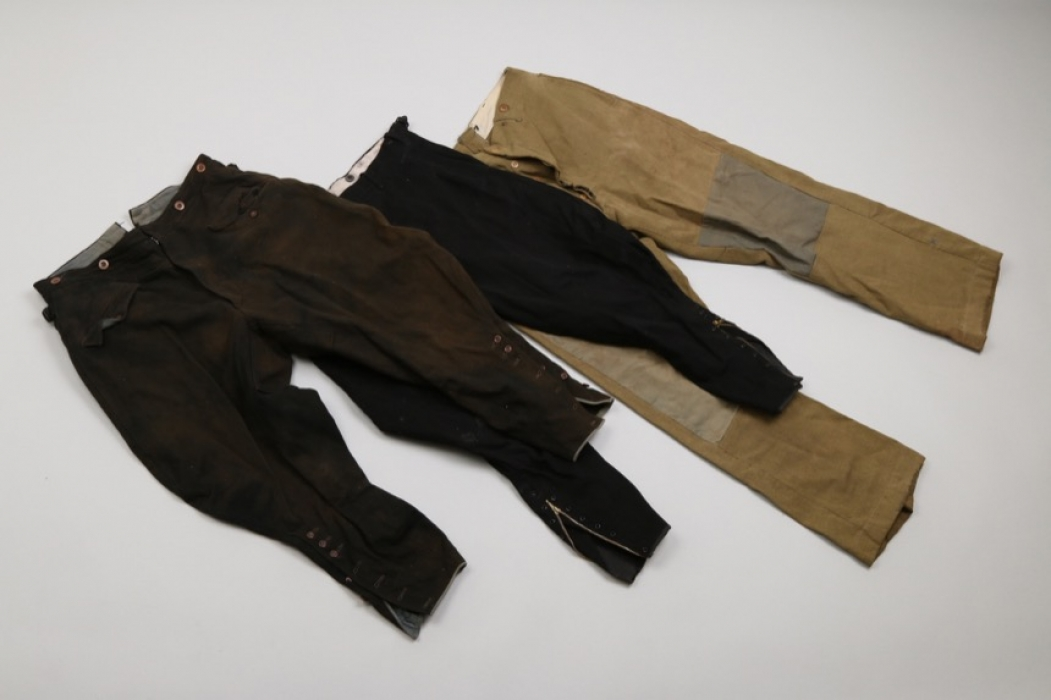 Third Reich / Great Britain - 3 trousers