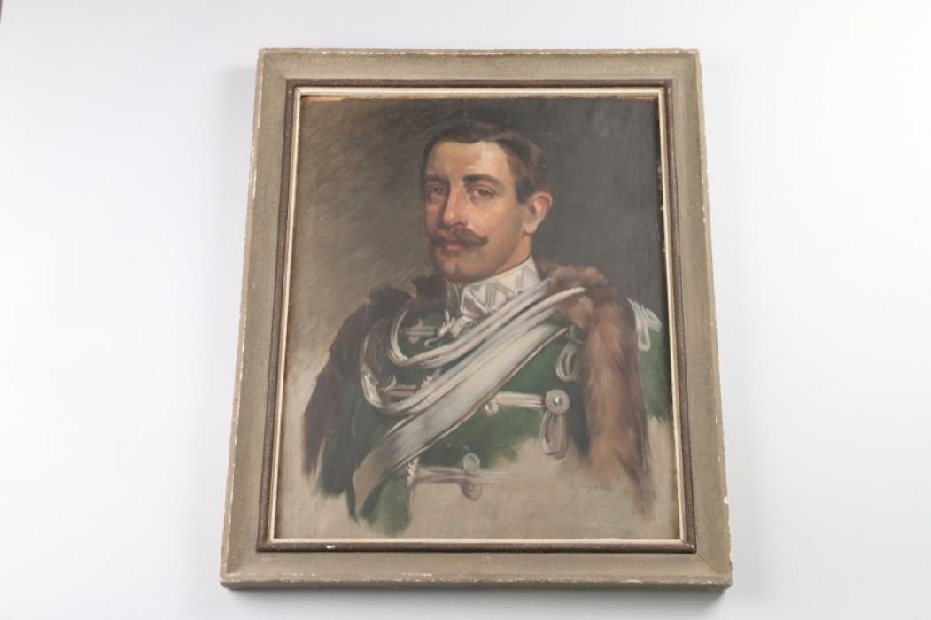 Portrait eines Offiziers - J.Jungwirth
