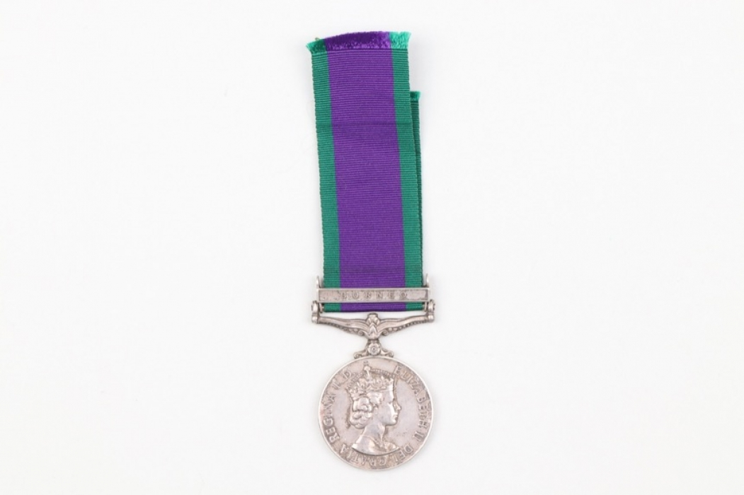 Great Britain - 1962 General Service Medal with clasp