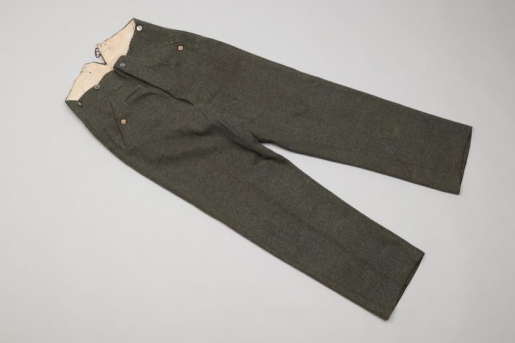 Heer / Waffen-SS M37 field trousers
