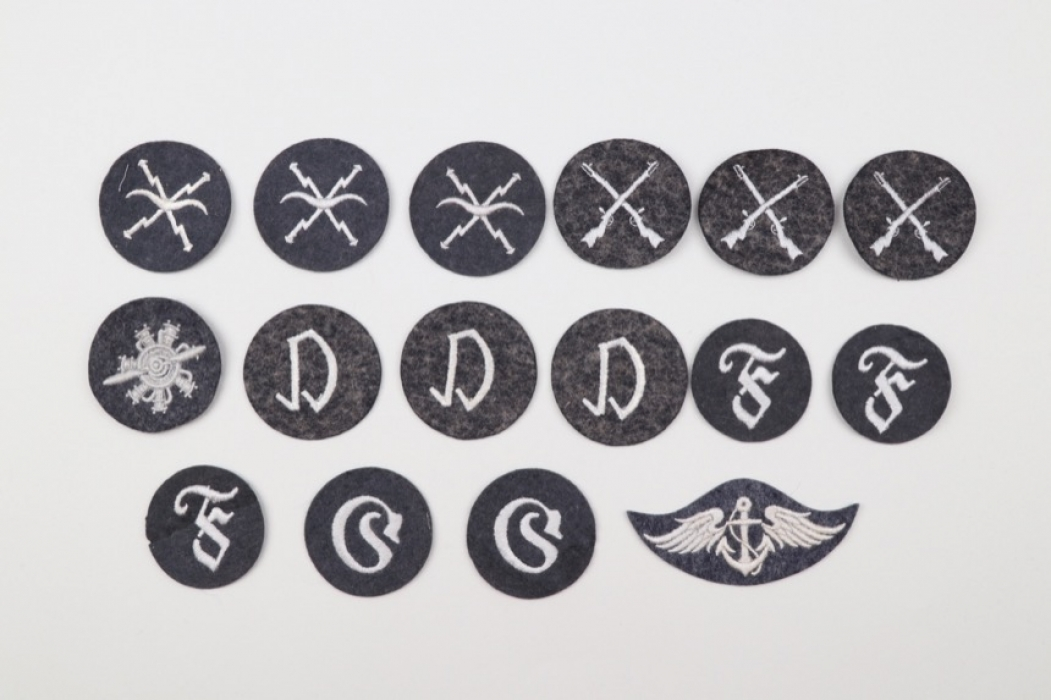 Luftwaffe lot of 16 trade badges