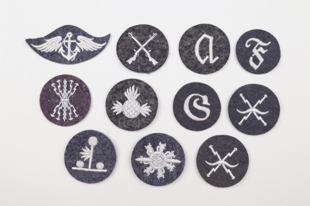 Luftwaffe lot of 11 trade badges