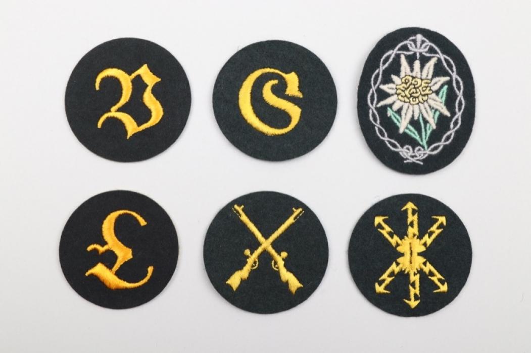 Heer lot 6 sleeve badges