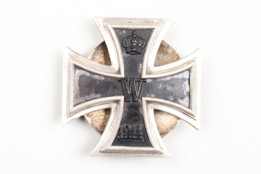 1914 Iron Cross 1st Class on screw-back - 800