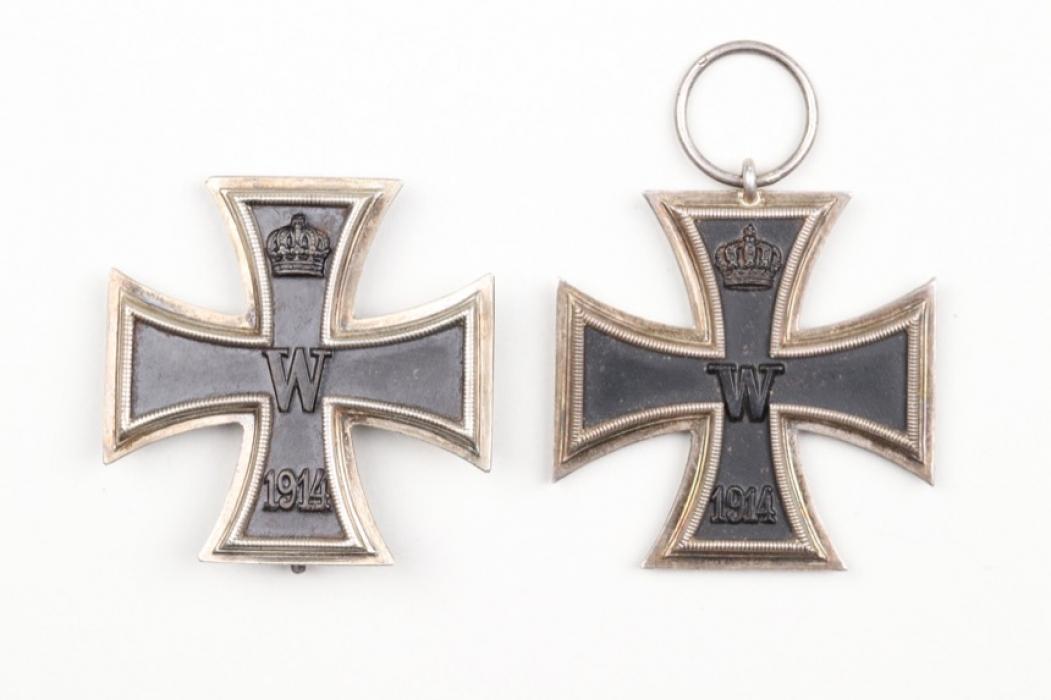 1914 Iron Cross 1st and 2nd Class - KO