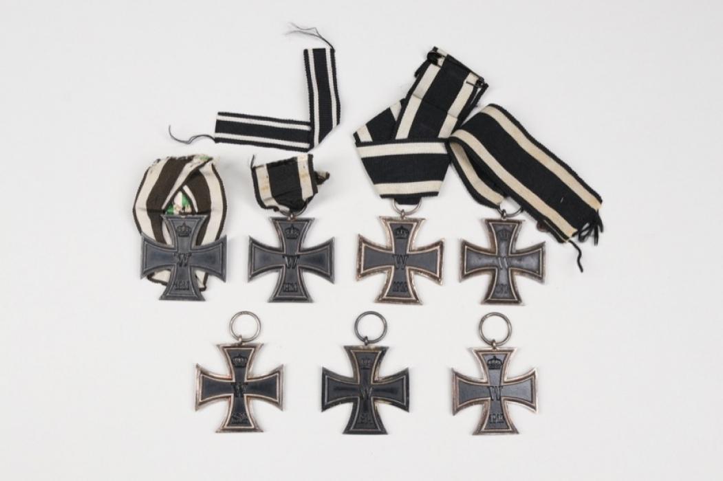 7 + 1914 Iron Crosses 2nd Class