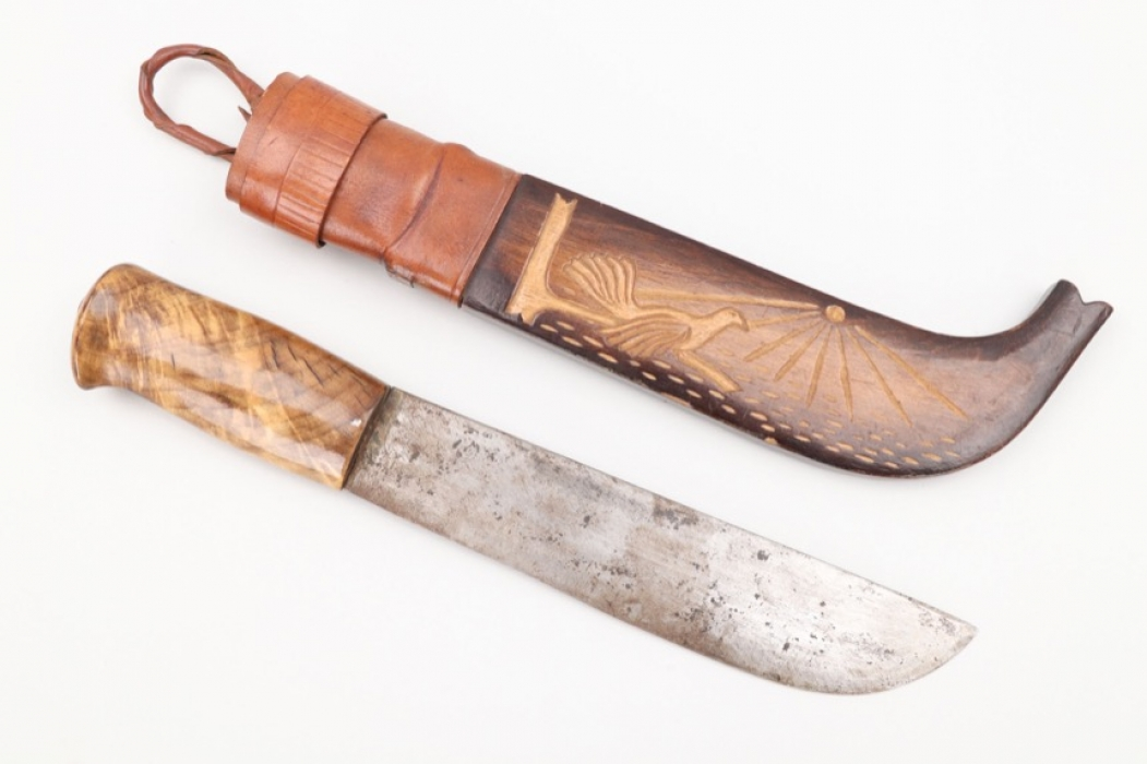 """WWII Finish/German """"Nordfront"""" knife"""