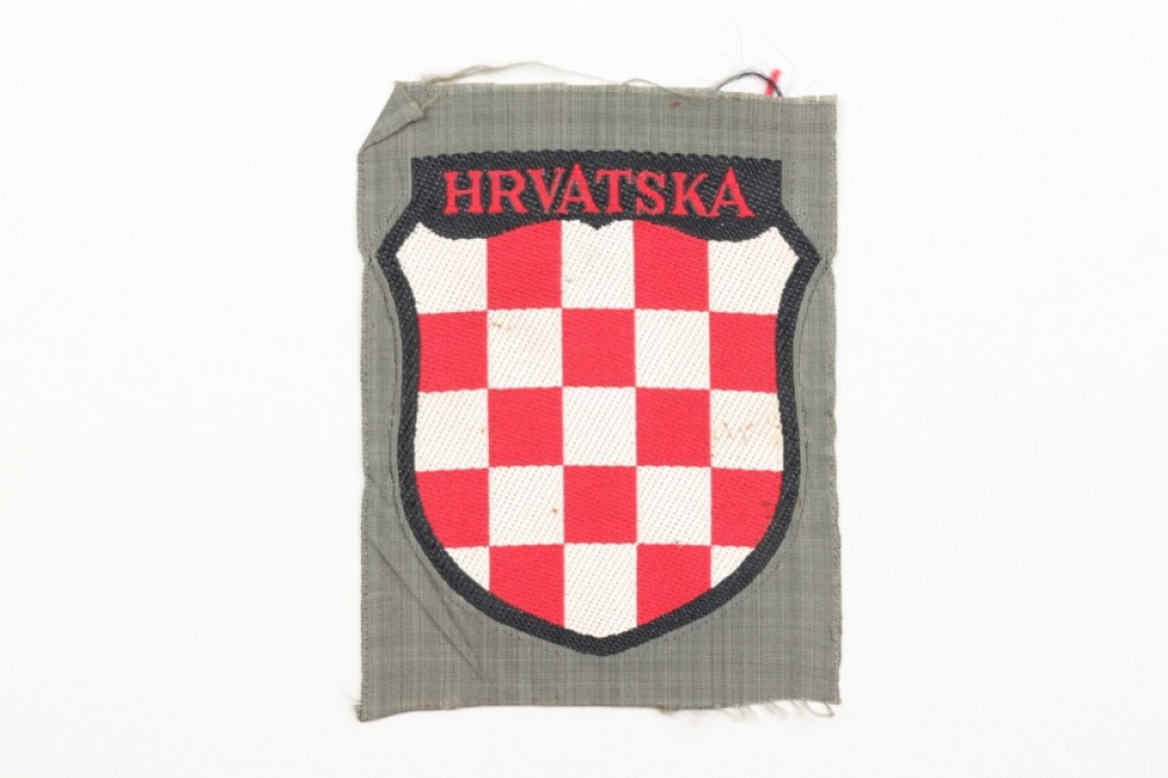 Heer Hrvatska volunteer's sleeve badge