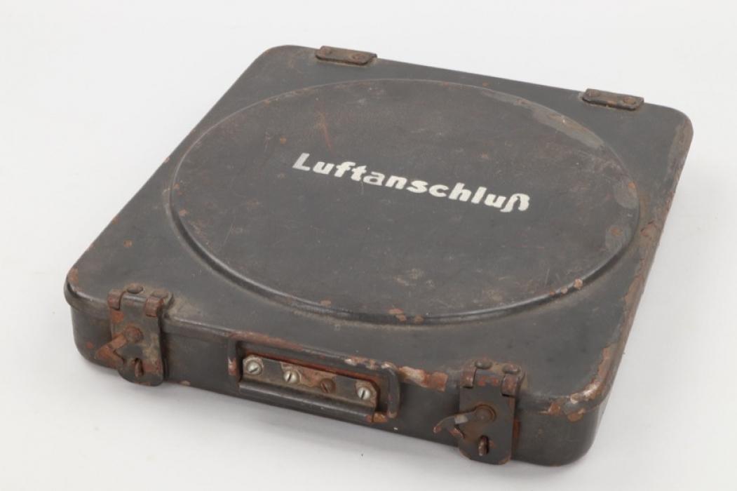 """Wehrmacht """"Luftanschluß"""" metal case"""
